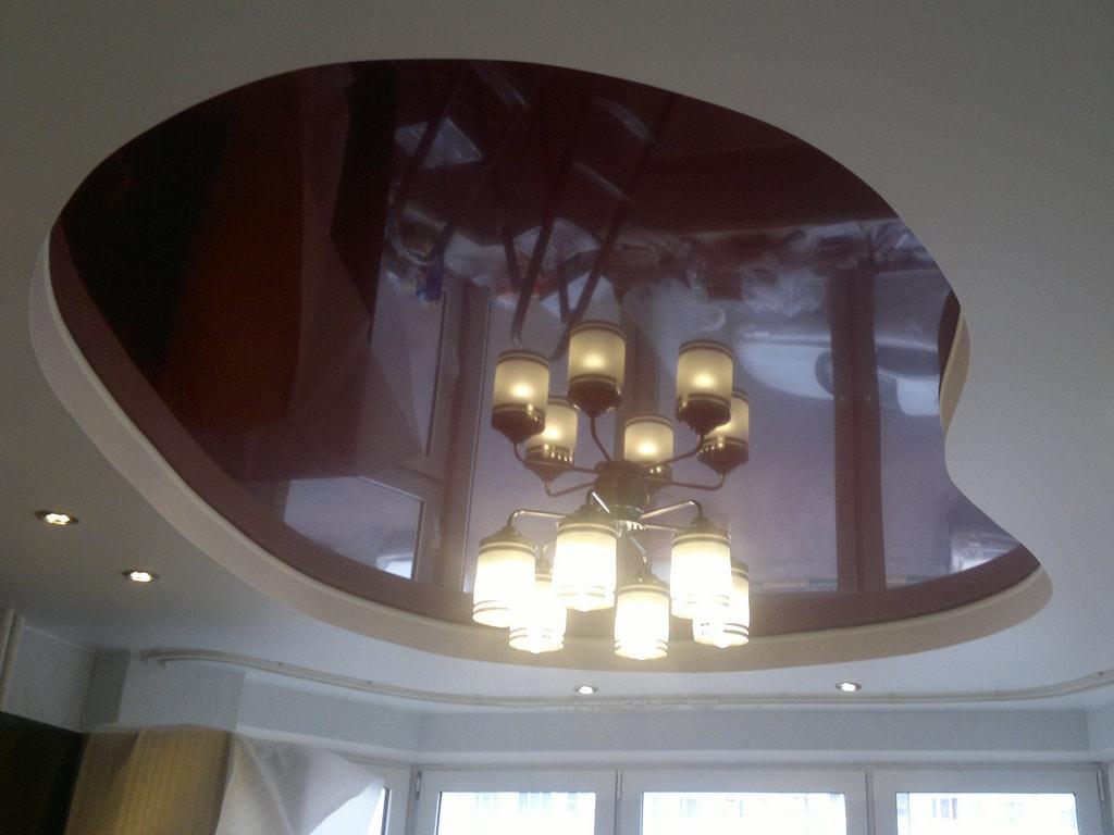 Многоуровневые потолки от производителя Ремонтофф. Натяжные потолки в Ульяновске под ключ.