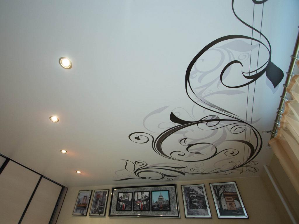 Матовые натяжные потолки фото Ремонтофф. Натяжные потолки в Ульяновске под ключ.