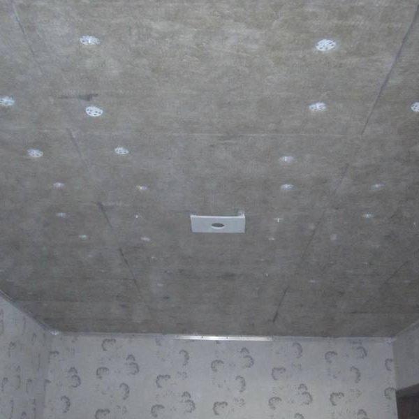 Шумоизоляция натяжного потолка
