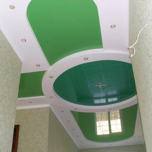 Натяжные потолки в прихожей фото, компания Ремонтофф. Натяжные потолки в Томске под ключ.