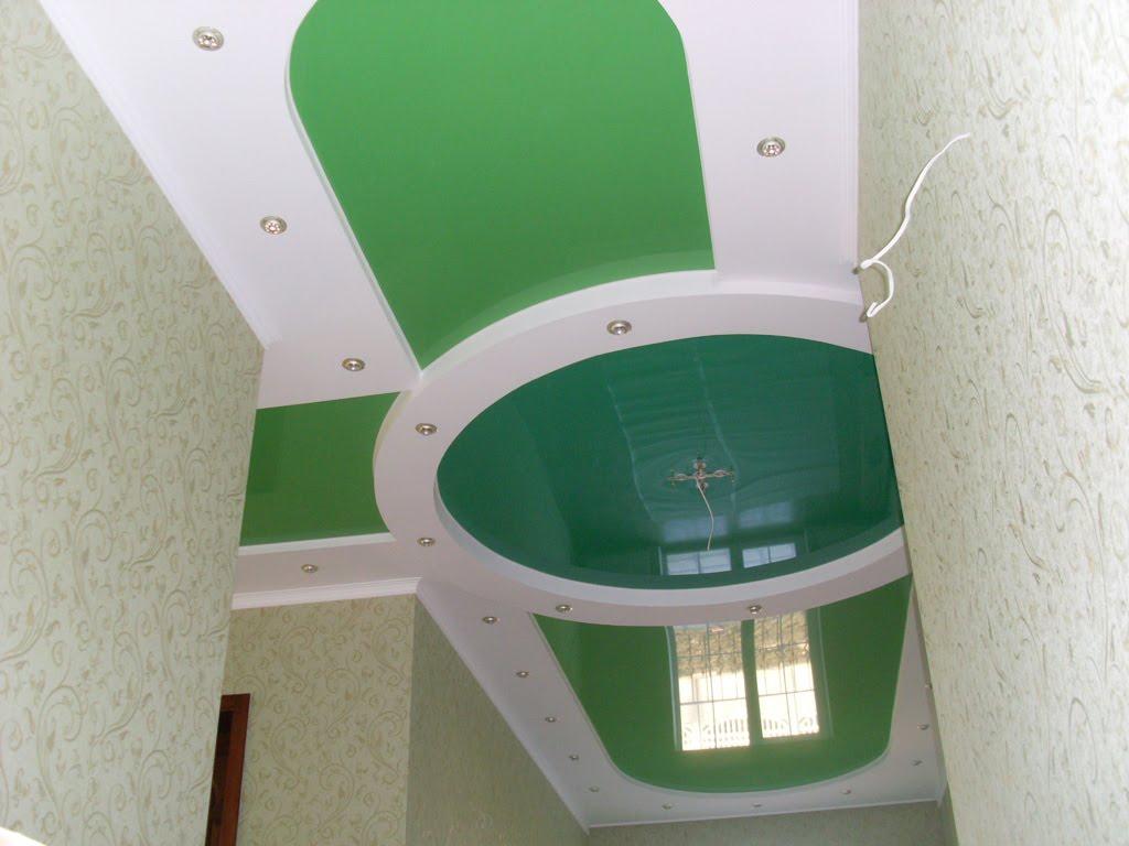 Натяжные потолки в прихожей фото, компания Ремонтофф. Натяжные потолки в Ульяновске под ключ.