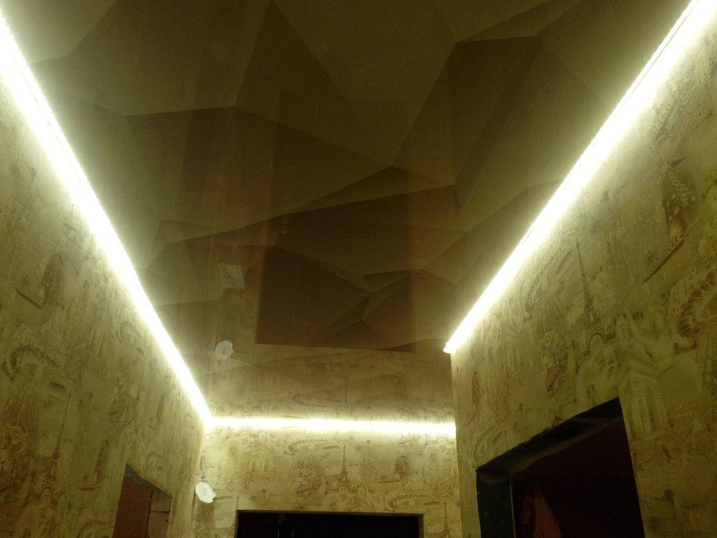 Натяжные потолки в прихожей стоимость от производителя Ремонтофф. Натяжные потолки в Ульяновске под ключ.
