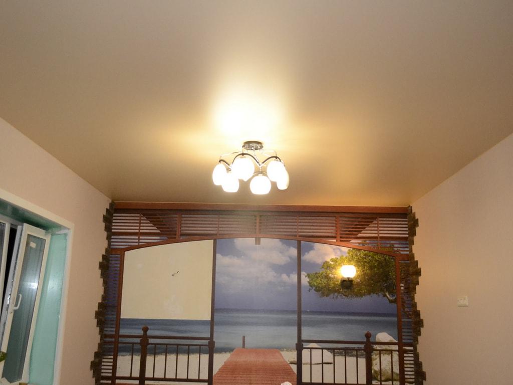 Сатиновые натяжные потолки от производителя Ремонтофф. Натяжные потолки в Ульяновске под ключ.
