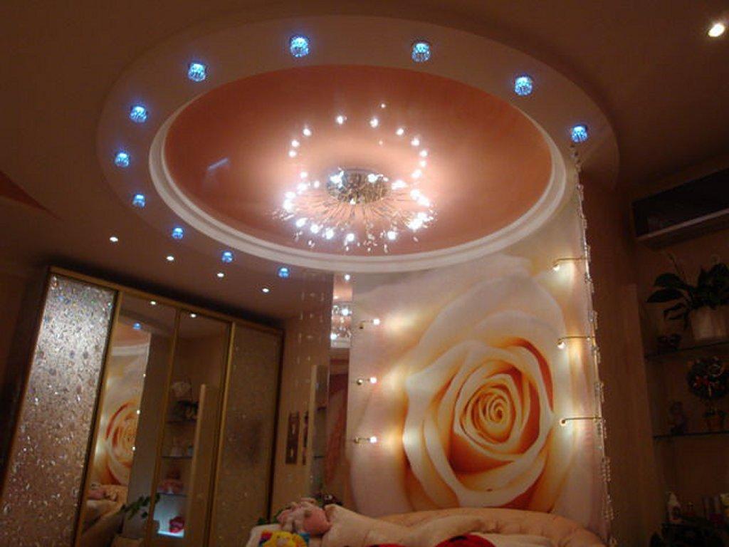 Натяжные потолки для спальни стоимость от производителя Ремонтофф. Натяжные потолки в Ульяновске под ключ.