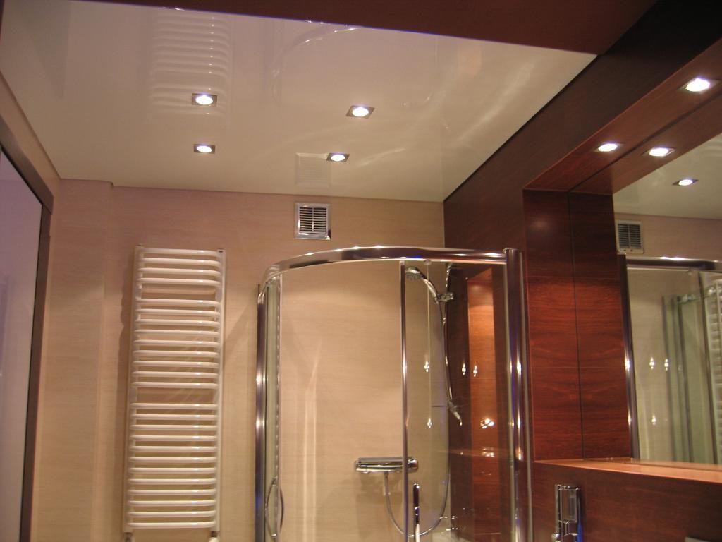 Натяжной потолок в ванной фото, компания Ремонтофф. Натяжные потолки в Ульяновске под ключ.